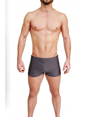 Boxer Brazilian Trunks AM Summerfield Sport - Grey Shadow