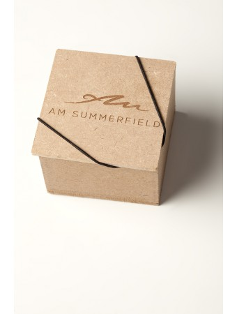 AM Summerfield Leather Ring Keychain