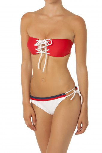Biquíni AM Summerfield Navy Sailor Red