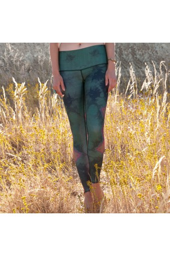 TEEKI - Eagle Feather Green Hot Pant