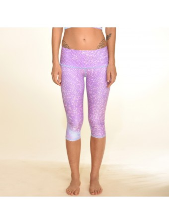 TEEKI - Mermaid Fairyqueen Lavender Goddess Capri