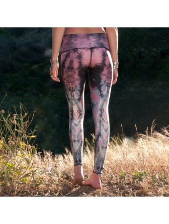 TEEKI - Eagle Feather Pink Hot Pant